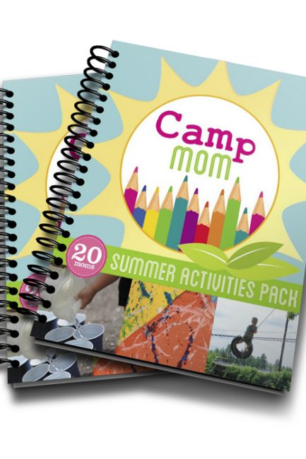 Camp Mom: and eBook full of activities, reading lists, crafts and adventure ideas for making the most of your spring and summer break!