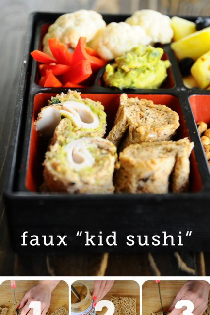 "Healthy Kid Meal Idea: Make Faux ""Kid Sushi"""
