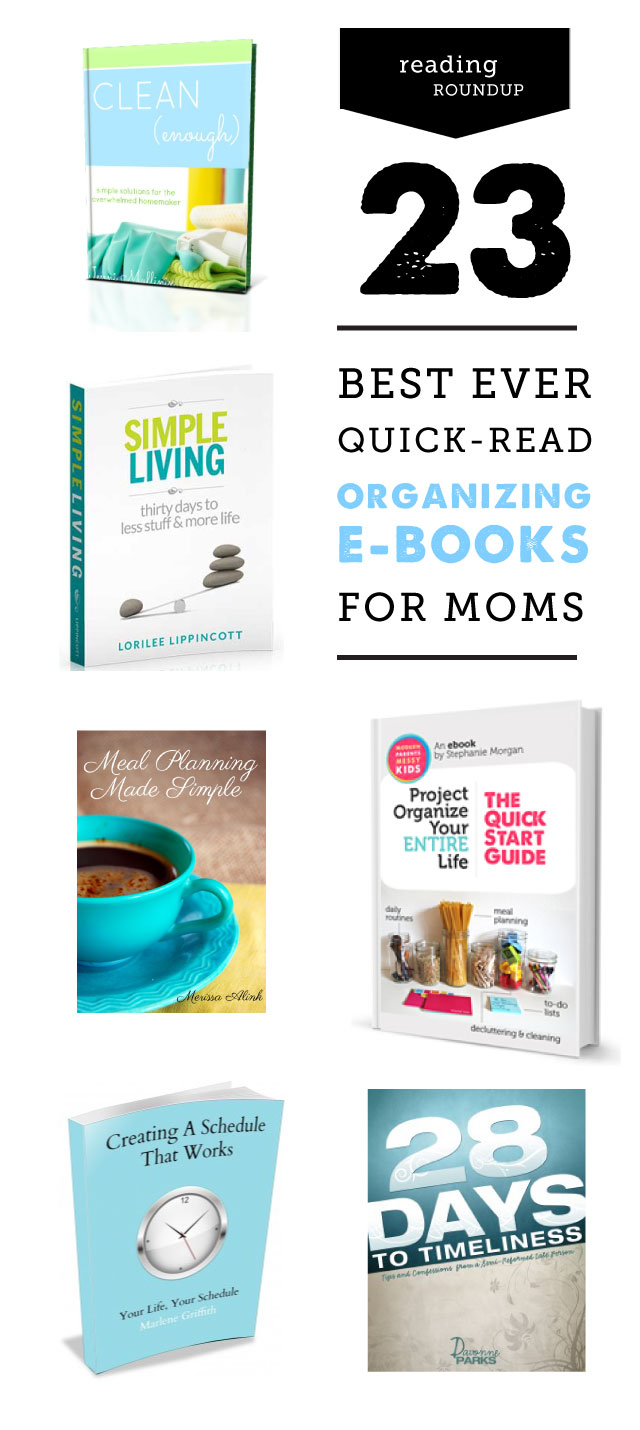 The best organization, meal planning, and kid chore resources for getting your spring cleaning done - including ebooks AND printables.