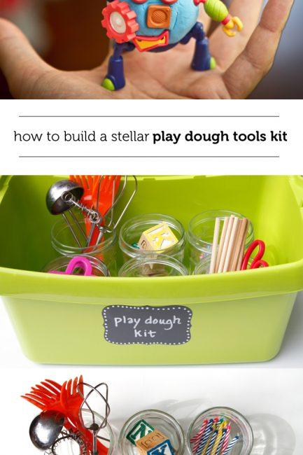 """Build a """"Play Dough Tool Kit"""""""