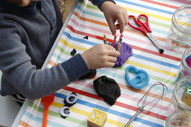Create your Own Play Dough Tool Kit with Household Items!