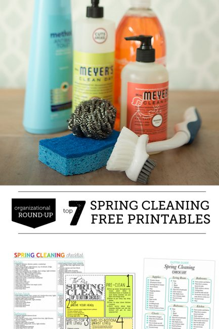 Spring Cleaning: Free 4-Week Printable Plan