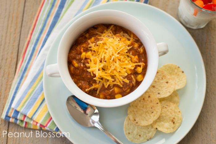 Taco Chili: Great meals for bringing to a friend | Modern Parents Messy Kids