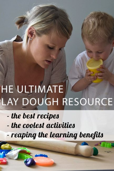 The ultimate round-up of play dough recipes, activities, tools and more.