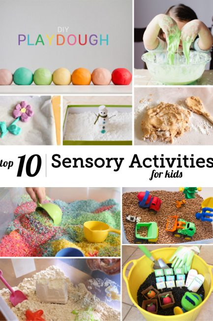 So many great playtime activities here - my kids will engage in them all for unheard of amounts of time!