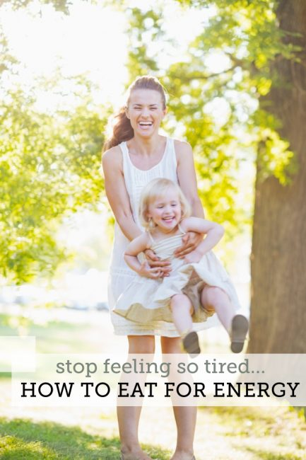 Tips & 4 Recipes to Finally Stop Feeling So Tired!