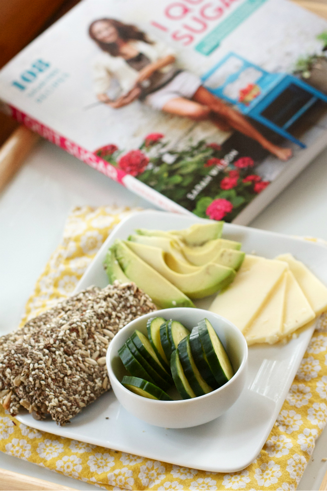 "Healthy ""Meal-in-a-Cracker"" - perfect for satisfying those salty/crunchy cravings."
