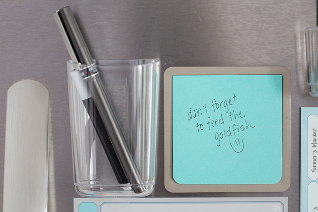 Meal Planning Made Easy with Post-Its
