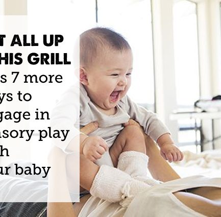 Sometimes parents wonder how to connect with newborn babies - here are 8 fun things to try!