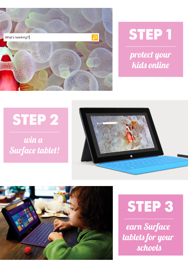 Get ad-free web searching in your schools (plus a chance to win your own Surface tablet)