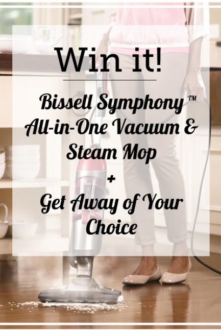 Win a New Bissell Vacuum Steam Mop & Get Away of Your Choice