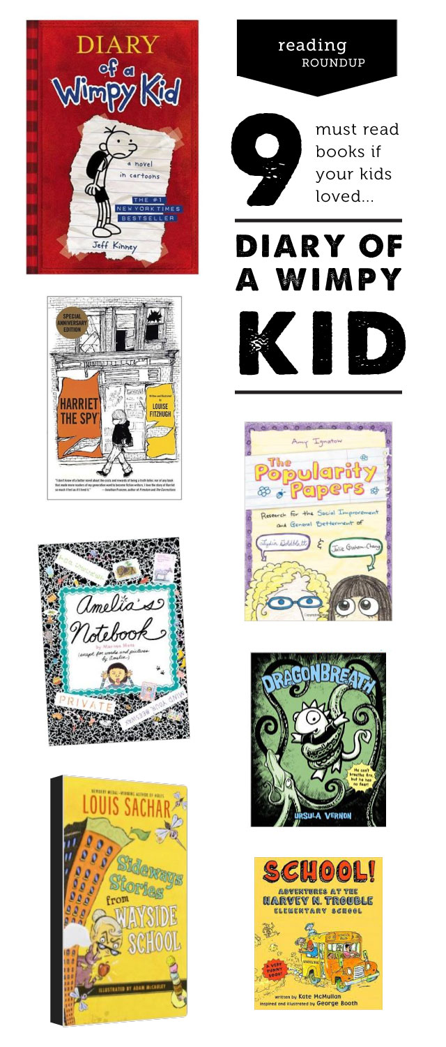 "A children's librarian's picks for what to read next if your kids loved ""Diary of a Wimpy Kid"""