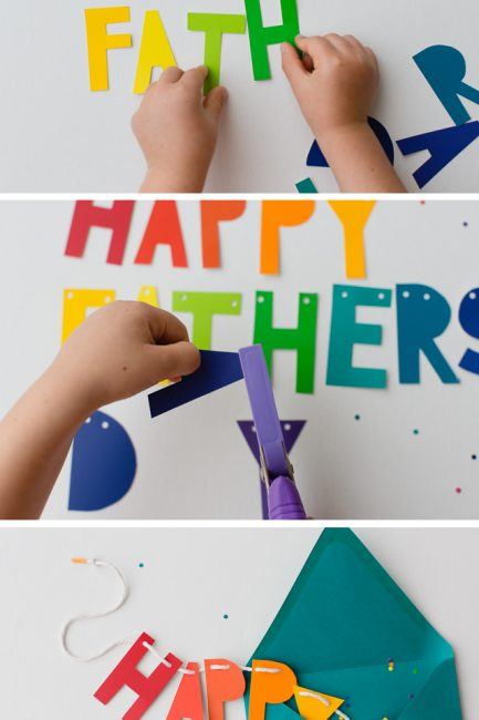 DIY Father's Day Banner & Card