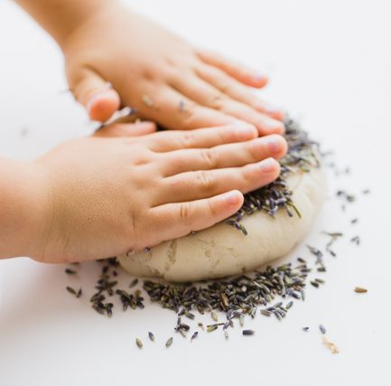 Quiet Time Trick: Make Calming Lavender Play Dough