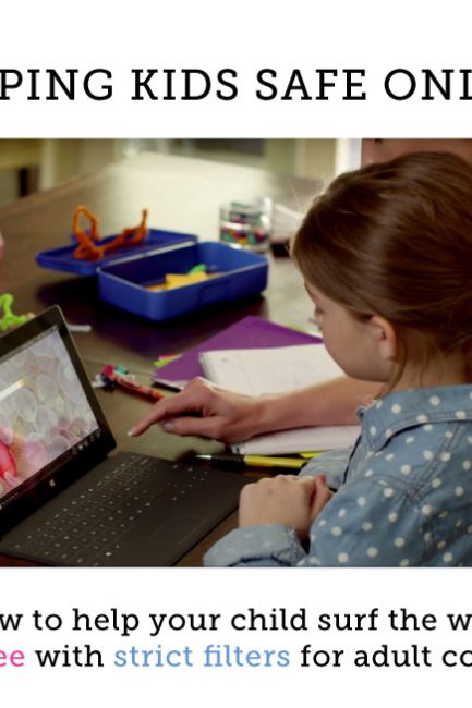 Win a Surface Tablet & Protect Your Kids Online with Ad-Free Search