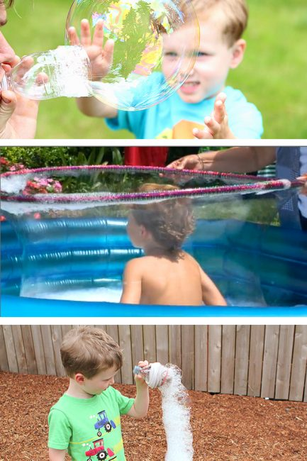 "How to Make ""Ah-Mazing"" Bubbles with the Kids"