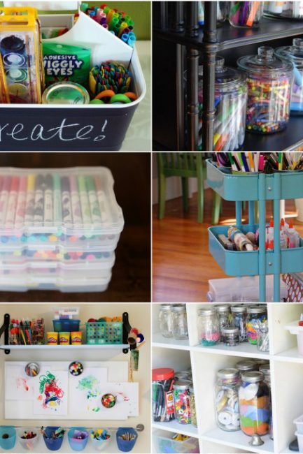 10 Best Ways To Organize Art Supplies
