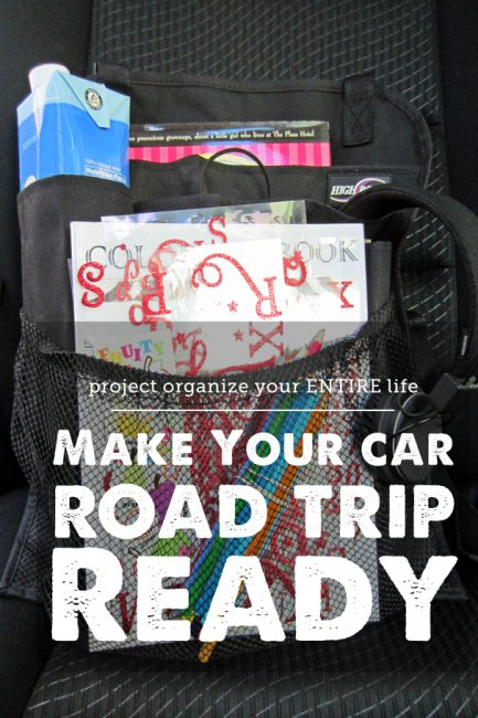 An Organized Car In Time For Summer Travel