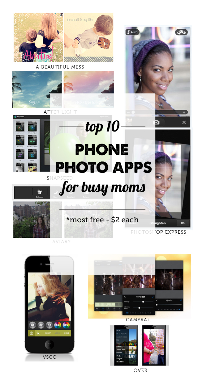 Best Phone Photo Apps for Moms