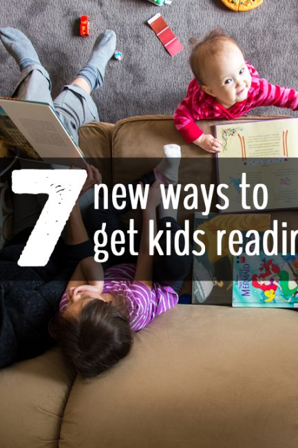 Super useful tips on how to get kids reading - love, love, #6!