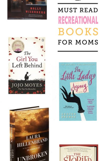 Recreational Summer Reading List for Moms