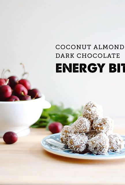 {In the Kitchen} No-Bake & Peanut-Free Dark Chocolate Energy Bites