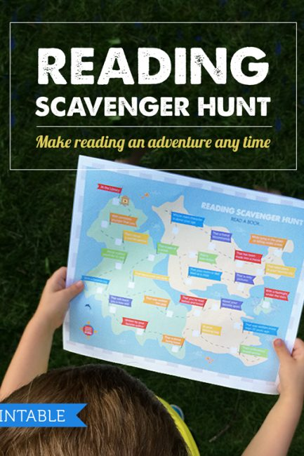 Free Printable for Growing Bookworms: Kids' Reading Scavenger Hunt