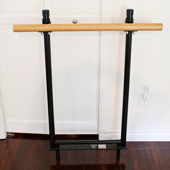 Love this in-home system for both Pilates and The Barre Method.