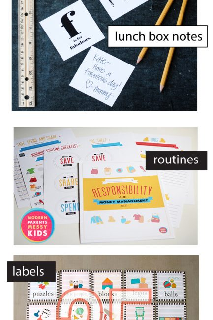 Back to School Printables Bundle from My Favorite Bloggers!