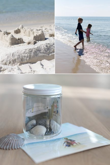 DIY Vacation Memory Jars