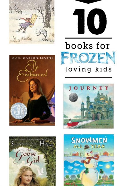 {Book Nook} 10 Books Kids Will Love if They Loved Frozen