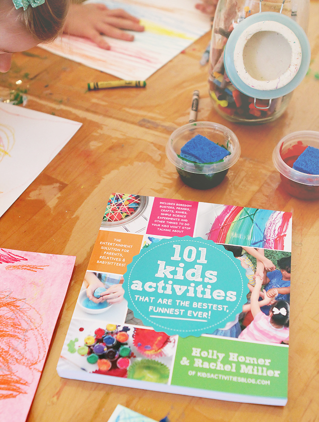 Full of mom-friendly easy set-up activities to keep the kids busy and happy.