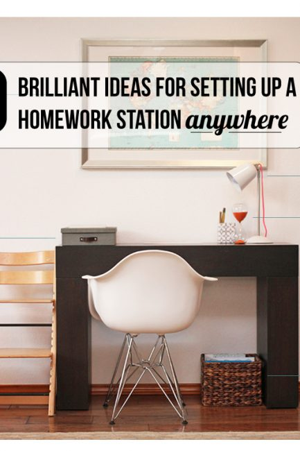 How to set up a study space anywhere