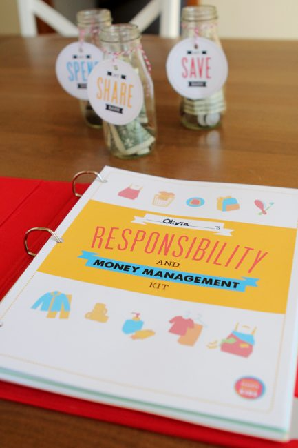 Kids' Responsibility & Money Management Printables Pack
