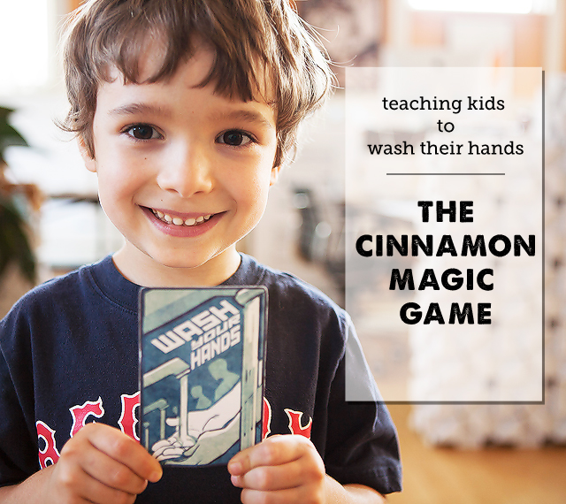A simple game to teach your kids to wash their hands (finally!)