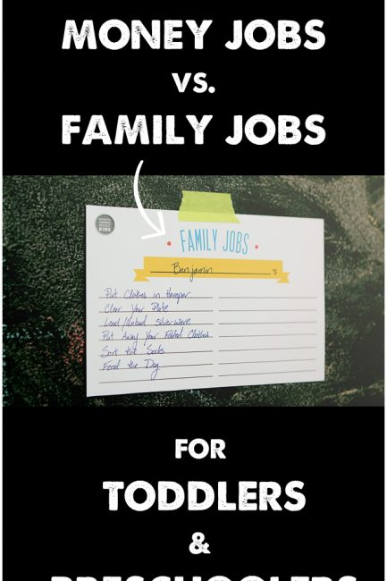 Family & Money-Earning Jobs For Toddlers & Preschoolers