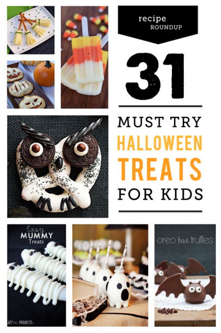 31 Must-Try Halloween Treats for Kids