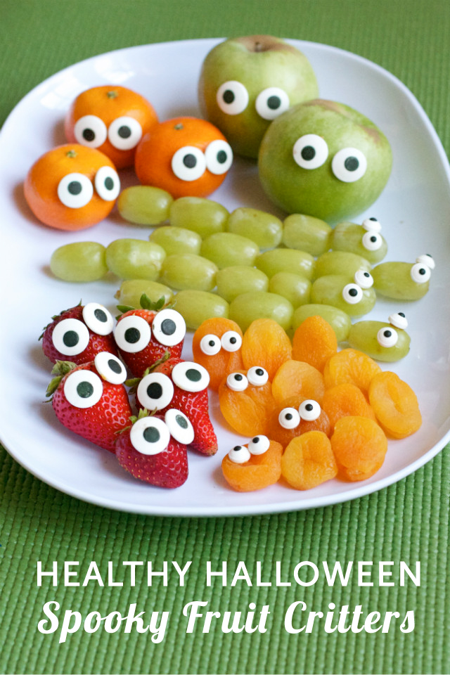 Make fruit fun and spooky with one quick trick modern for Fun halloween treats to make with toddlers