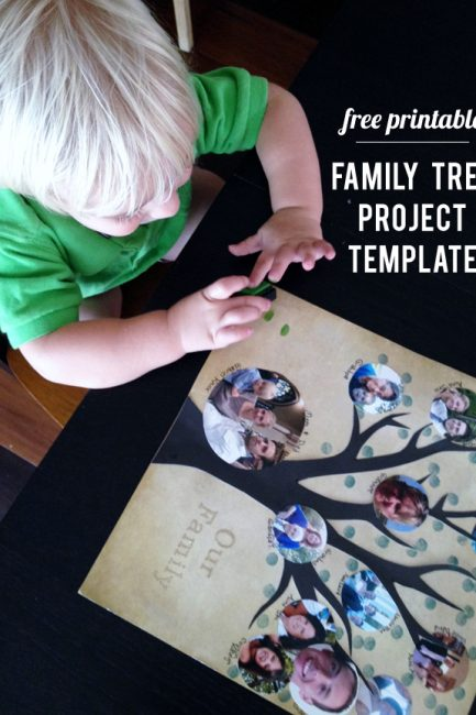 Memory Keeping: Free Family Tree Template
