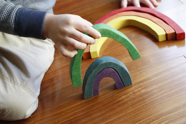 I cannot get enough of these lovely handmade wooden toys - my kids absolutely love them too.
