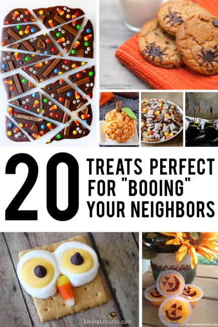 "The perfect, easily packaged treats for ""Booing"" your neighbors - #4 is amazingly good."
