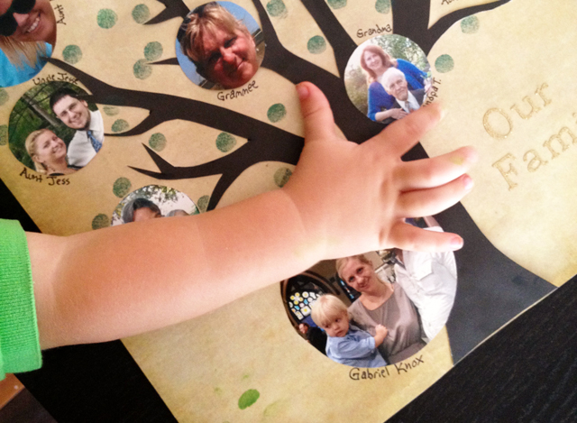 memory keeping free family tree template modern parents messy kids