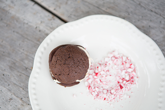 Inspired by Trader Joe's Candy Cane Joe-Joe cookies - this are always a HUGE hit every year.