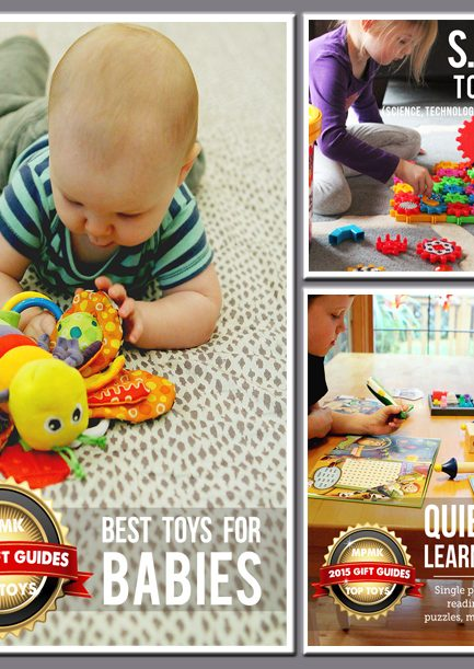 MPMK Gift Guides: Top Toys for Quiet Time, Babies, and Building S.T.E.M. Skills