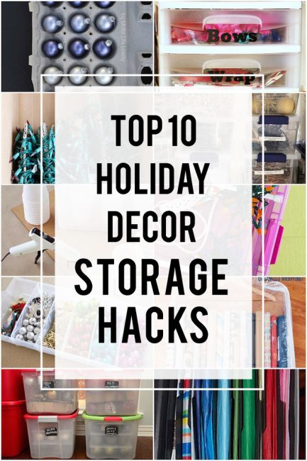 10 Winning (And Affordable!) Ways To Store Holiday Decorations