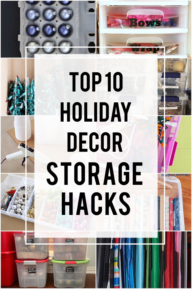 Good Holiday Decoration Storage Ideas Part - 14: #7 Is Genius - Will Save Me So Much Time Next Year!