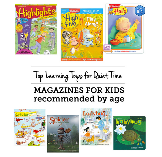 Best high quality magazine subscriptions for kids of all ages