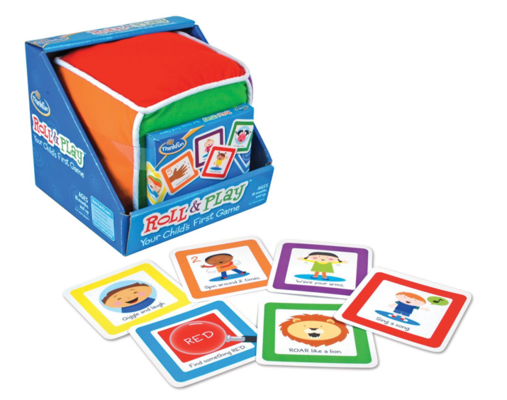 This Is The First Board Game Ever Made Specifically With Young Toddlers In Mind Toss Big Plush Cube And Identify Which Colored Side Faces Up