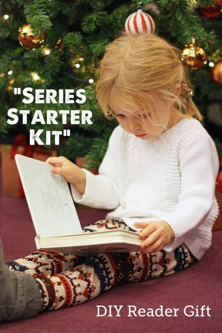 Give the Gift of Reading: How to make a 'Series Starter' Kit for Kids