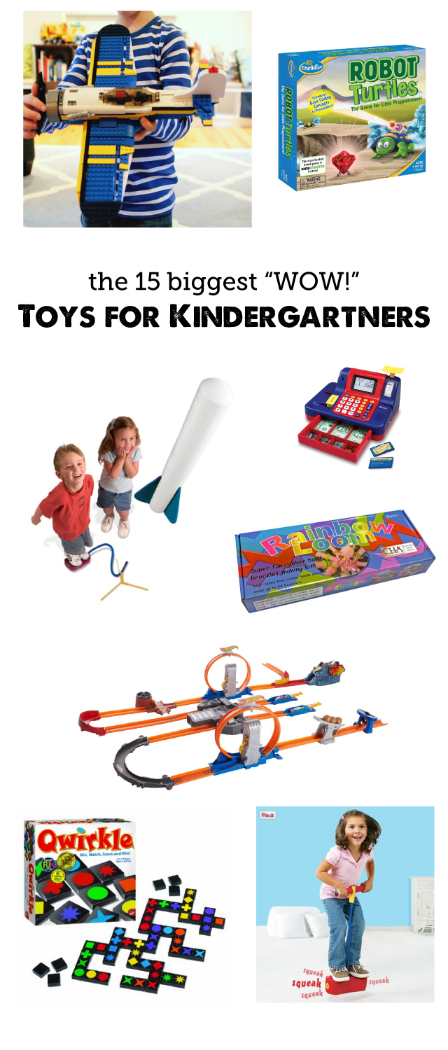"So much better than the latest ""it"" toy - all of these picks will bring hours and hours of engaged playtime from your kindergartner."
